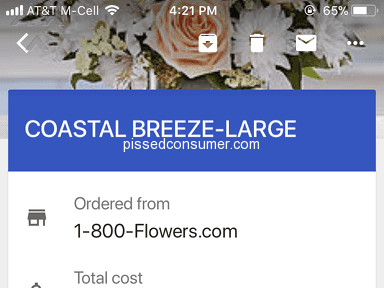 1800Flowers Delivery Service review 304466
