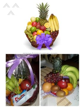 From You Flowers Fruit Arrangement