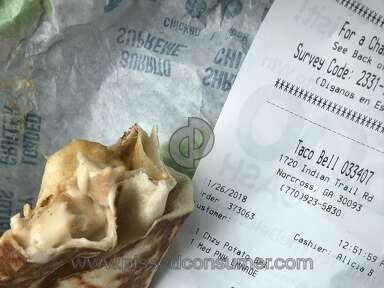 Taco Bell - Vegetarian Complaint
