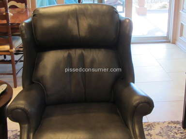 Ethan Allen - Beware Leather Recliners/Chairs