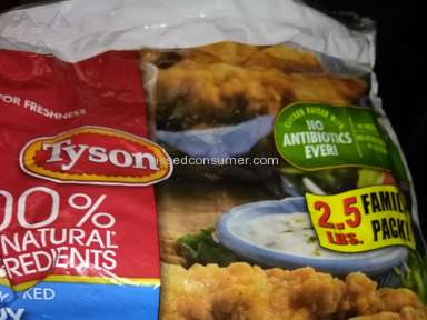 Tyson Foods - We have bought chicken strips for 12 years