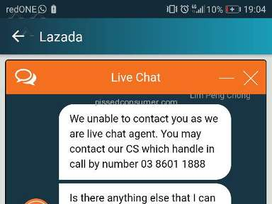 Lazada Malaysia Shipping Service review 266008