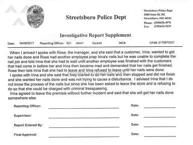 T A Nails Of Streetsboro Manager review 203448