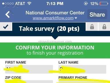 National Reward Center - National reward/consumer center is a scam ...