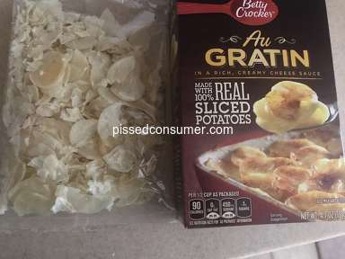 Betty Crocker - Au Gratin potatoes