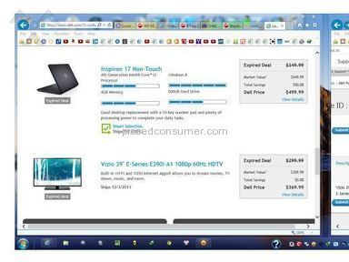 Beware Dell.com. Ship out a VIZIO TV different model when you bought on Cyber Monday 2013 website.