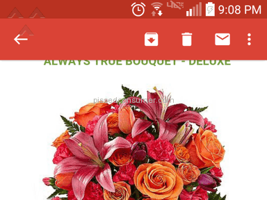ProFlowers Bouquet review 87771