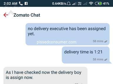Zomato - Fraud