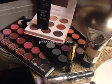 BH Cosmetics - Shipping Service Review from Spring Valley, California