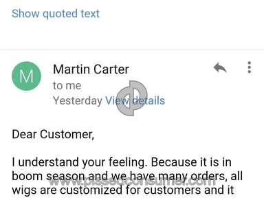 "Ewigsna - Joke of a ""company"" with deplorable customer service."