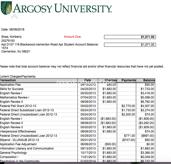 argosy university transcript request 37 Argosy University Reviews and Complaints @ Pissed Consumer