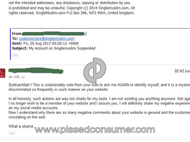 Singlemuslim Account review 226540