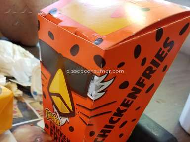 Burger King - Cheetos Chicken Fries Chicken Nuggets Review from Amarillo, Texas