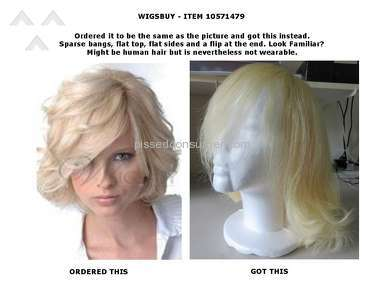 Wigsbuy Human Hair Wig review 139857