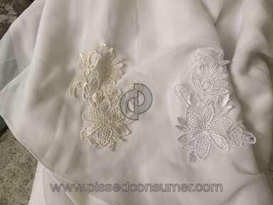 Dhgate Honeywedding Wedding Dress review 130541