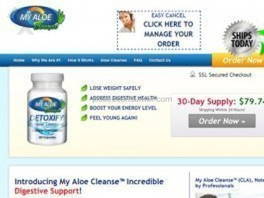 My Aloe Cleanse Drug Stores and Drugs review 96009