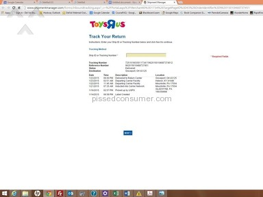 Toys R Us - 3x only 50% accurate with order, charged me for items I returned, terrible experience