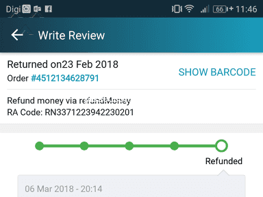 Lazada Malaysia - Lazada keep giving stupid excuse on the delay of refunds