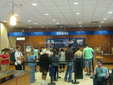 Chase Bank - For A Billion Dollar Company, They Can Afford Much Better Service!
