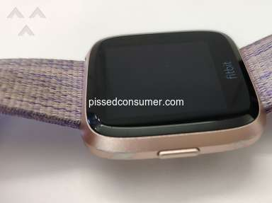 Fitbit - Peeling device in less than 3 months