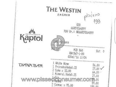 The Westin Zagreb Review from Velika Gorica, Zagreb