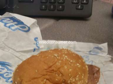 Hardees Roast Beef Sandwich review 388454