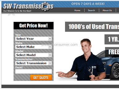 South West Transmissions Service Centers and Repairs review 32373