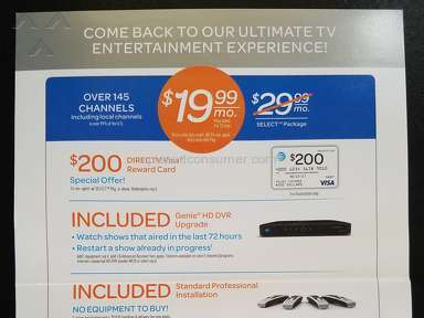 Directv - Deceptive Advertising by Direct TV