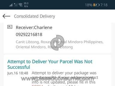 Lazada Philippines Ninja Van Delivery Service review 642179