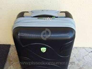Air Berlin - Complaint - luggage damaged