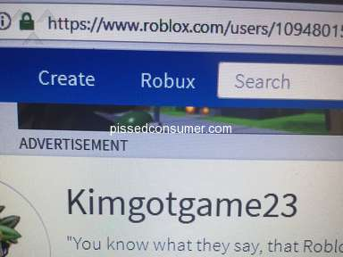 Because my roblox account was acted