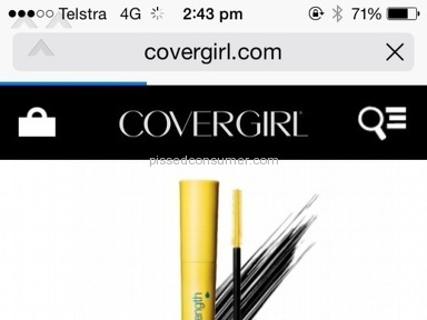 Covergirl Mascara review 81547