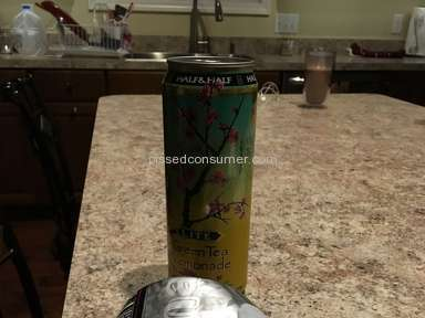 Arizona Beverages - Arizona Arnold Palmer Half And Half Review from Davison, Michigan