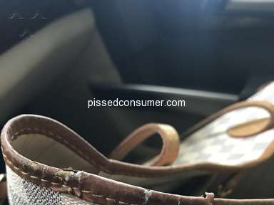 Louis Vuitton Neverfull bag is JUNK!!!!