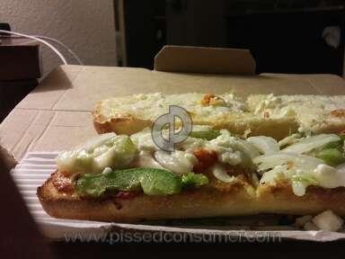 Dominos Pizza Mediterranean Veggie Sandwich review 160818