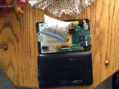 RCA Tablet BLEW UP