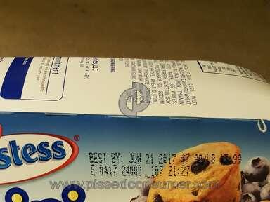 Hostess Brands - Moldy blueberry muffins