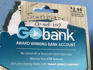 Gobank - Stoled $165.00 plus $2.95 fee from my friend!!