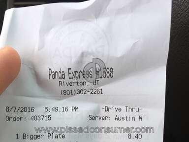 Panda Express - Simple Review #1470614316