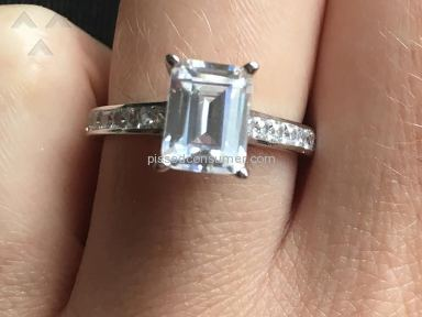 Agape Diamonds Engagement White Gold Ring review 184096