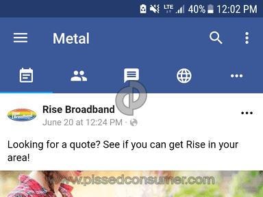 Rise Broadband Telecommunications review 304050