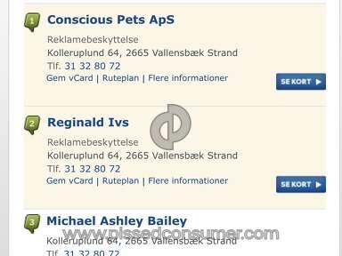 Conscious Pets - Fraud