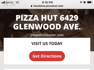 Pizza Hut - Childhood Customer OUTRAGED