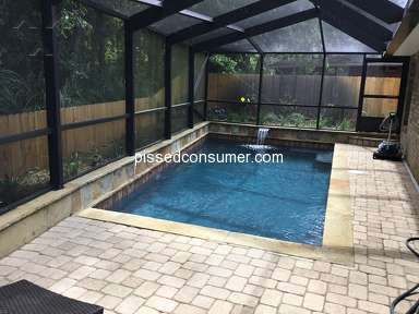 Blue Haven Pools - Major project Beautiful results best choice