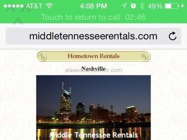 Hometown Rentals House Rental Review from Nashville, Tennessee
