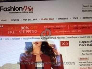 Fashionmia Dress review 127811