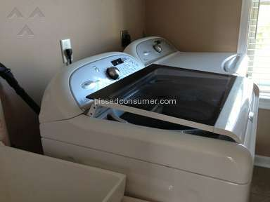 Whirlpool Cabrio washer cracked lid (Model WTW7800XW2)