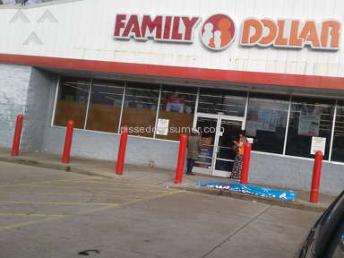 Family Dollar - Not opening on time