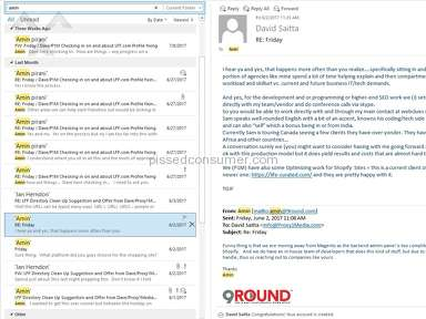 9round Fitness LLC: Spamming Marketing Practices / Lawsuit started.