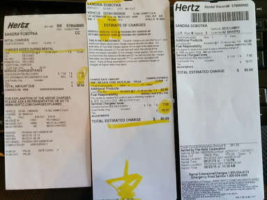 Hertz Car Scams - Phoenix - Sky Harbor Airport